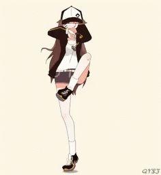 Video to GIF converter. Upload AVI, MOV, WEBM, FLV and other video files up to and create animated GIF images. Cool Anime Girl, Kawaii Anime Girl, Anime Art Girl, Dancing Animated Gif, Gif Dance, Dance Moves, Anim Gif, Gif Animé, Fanarts Anime