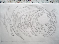 June 4, A Thing A Day; I was off island today so I took a sketch pad with me. While I was on the boat I did a preliminary sketch for a possible linocut.