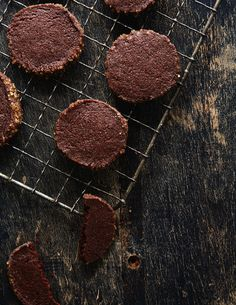 Chocolate chili icebox cookies // Photo by Linda Xiao