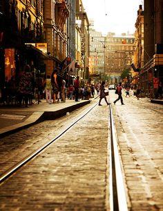 Finland. Helsinki street scene  // by © jrodmanjr | via allthingseurope