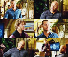 "babyara: "" "" G. Callen, Sam Hanna & Marty Deeks "" NCIS Los Angeles, 5.16 - Fish Out of Water """