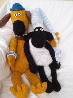 Bitzer the dog & Shaun the sheep