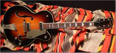 "1955 Gretsch Country Club ""Sunburst"" ""Vintage Electric and Acoustic Guitars, Gibson, Fender, Gretsch, Martin, In Ithaca and Albuquerque"