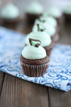 Mini Mint Truffle Brownie Bites Final by laurenslatest, via Flickr. Coming to my house soon. This blog has a lot of cool little recipes.
