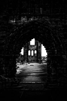 St. Andrews Cathedral Dark Places, Oh The Places You'll Go, Great Places, Abandoned Churches, Abandoned Cities, Photographs, Photos, Church Architecture, Dark Photography