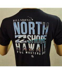 Men's Billabong Basic T-Shirt - Pipe Masters 2012 North Shore Limited Edition; Color Options: Black. $24.50. Billabong Pipemasters 2013 starts Sunday, December 8, 2013 at North Shore, Oahu, Hawaii. Available at www.islandsnow.com