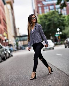 517cf4608df8 The Items You Forgot To Buy At The NSale Suede Moto Jacket, Studded Heels,