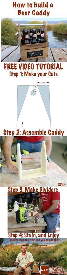 Learn how to make a DIY Beer Caddy. This is an awesome project and makes great…