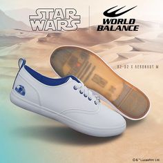 Out of This World This Star Wars Sneaker Collection Is - Star Wars Shoes - Ideas of Star Wars Shoes #starwars #shoes #starwarsshoes - World Balance, Star Wars Shoes, Star Wars Outfits, Star Wars Gifts, Fresh Kicks, Star Wars Collection, Star Wars Characters, Out Of This World, Slip On Sneakers