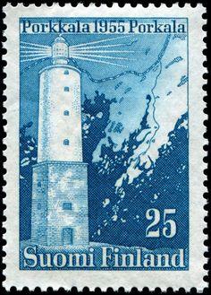Finlandia 1956 - Faro Porkkala