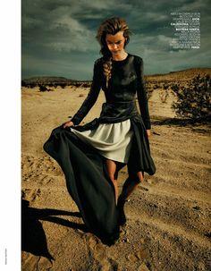 Fashion Editorial | Neo Purismo | Victoria Tuaz by Rennio Maifredi for Marie Claire Italia, October 2013