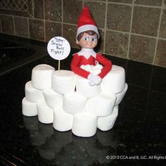 List of ideas for Elf on the Shelf