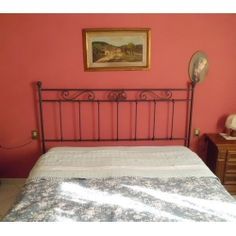 Wrought iron bed. Customize Realizations. 986 Wrought Iron Beds, Furniture, Home Decor, Decoration Home, Room Decor, Home Furnishings, Rod Iron Beds, Arredamento, Interior Decorating