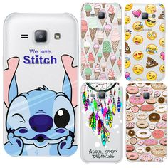 Inventive Cute Cartoon Stich Coque Soft Tpu Silicone Phone Case Cover For Samsung Galaxy A3 2016 A5 2017 A7 J3 J5 2015 J7 2017 Good Heat Preservation Phone Bags & Cases Cellphones & Telecommunications