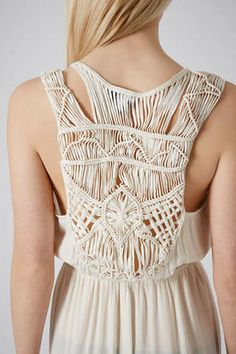 I'm gonna need a macrame dress this spring