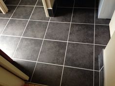 New tiles installed preparing for sale of a townhouse in slacks creek