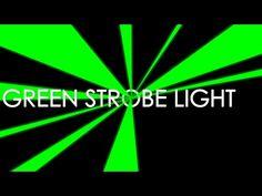 Green Strobe Light - YouTube Strobe Light, Strobing, Tech, Green, Youtube, Technology, Youtubers, Youtube Movies