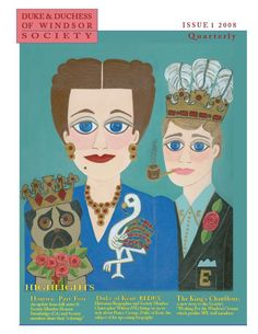 "Honora Stembridge, folk artist "" Duke and Duchess of Windsor ..."