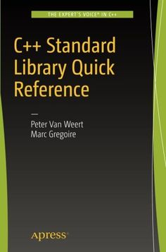 1484218752 - C++ Standard Library Quick Reference - http://lowpricebooks.co/2016/09/1484218752-c-standard-library-quick-reference/