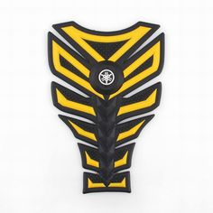 Mad Hornets - 3D Rubber Tank Pad Protector Gas Motorcycle Yamaha YZF R1 R6 R6S…