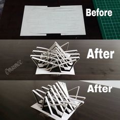 Model Folding model done by me! More to fo Architecture Pliage, Architecture Origami, Maquette Architecture, Concept Models Architecture, Architecture Model Making, Conceptual Architecture, Pavilion Architecture, Art And Architecture, Computer Architecture