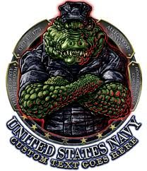 US Amphibious Alligator Gator Navy Vintage Sign Military Retirement, Military Veterans, Naval Tattoos, Us Navy Shirts, Gator Logo, Military Signs, Navy Day, Navy Chief, Tattoo