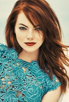 Textured red  #hair #EmmaStonehair- love love- wonder if I could i pull this off?hmmm