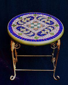 Mosaic Furniture U0026 Garden Art U2013 Plum Art Mosaics U2013 Mosaic Artist U2013 Sharon  Plummer U2013 Houston, Texas