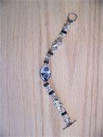 Gator Bracelet black and white inspired. C110  $25.00