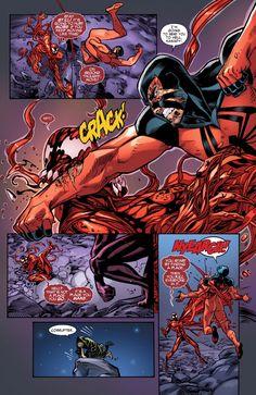 Spiderman Spider, Amazing Spiderman, Spiderman Marvel, Marvel Art, Marvel Dc Comics, Comic Books Art, Comic Art, Scarlet Spider Kaine, Spider Carnage