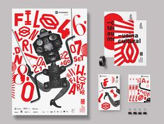 """We are responsible for identity and graphic design of the 46th edition of the """"Festival Internacional de Londrina"""" (International Festival of Londrina).The boundary between dream and reality, the playful aspect and the puppets universe were the main insp…"""