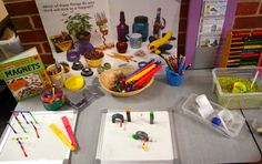 ideas for science centres - more kindergarten rooms need more science explorations!