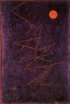 Paul Klee, Coloured Lightning