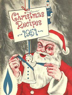 Christmas Recipes 1951