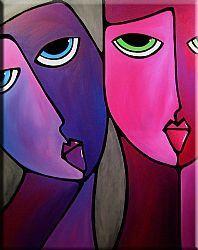 Art: Sensitive Issues - F543 by Artist Thomas C. Fedro