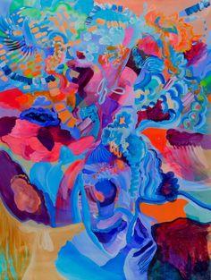 "Saatchi Art Artist Irina Rosenfeldt; Painting, ""MAY HEAVEN BE OWEN OF ADVENTURE"" #art"