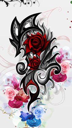 Tribal Tattoo Designs, Tribal Heart Tattoos, Temporary Tattoo Designs, Dragon Tattoo Designs, Tattoo Designs For Women, Tribal Forearm Tattoos, Turtle Tattoos, Irezumi Tattoos, Bild Tattoos