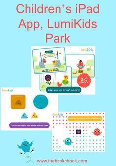 Children's iPad App, LumiKids Park