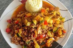 Hackfleisch - Gemüse - Pfanne 1