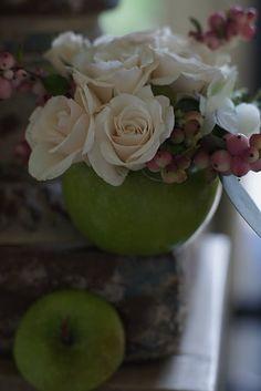 Apple Floral for Rosh Hashanah