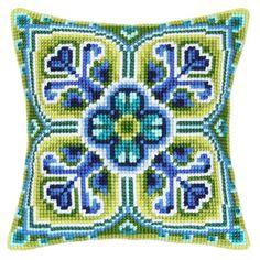 Набор для вышивания подушки Vervaco PN-0009138 Узор