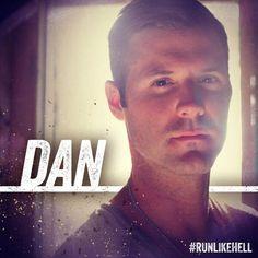 Star Dave Finn plays 'DAN' in #RunLikeHell