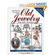 Answers to Questions About Old Jewelry: C. Jeanenne Bell