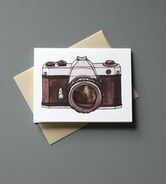 Vintage Camera Cards - Pack of 6 | Gifts Cards & Stationery | Little Alexander | Scoutmob Shoppe | Product Detail