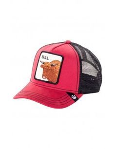 d967f76e282be Goorin Bros. Bull Trucker cap - red Gorro