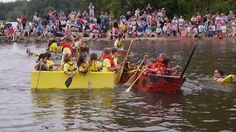 Lake Accotink Park Cardboard Boat Regatta 2013 - Springfield, Virginia