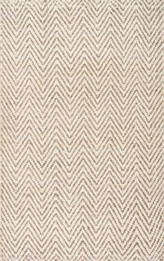 The Kiwa Handwoven Jute Chevron rug is classic, clean, and incredibly soft. Enjoy this stylish chevron rug in your living space today from Rugs USA! Carpet Runner, Rug Runner, Chevron Area Rugs, Fur Carpet, Shaw Carpet, Grey Carpet, Patterned Carpet, Tapis Design, Diy Home