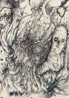 Metamorphosis II is a creation by Piotr Zygmunt. Category People, Character, Drawing, Miscellaneous. Ballpoint pen 29,7x21cm 2017. Ballpoint pen. Drawing. 78 points, 17 appreciations, 2 comments, 1 favourite, 209 views. Image #658961.