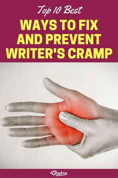 best ways to prevent writer's cramp problem and how to treat it Wellness Tips, Health And Wellness, Repetitive Strain Injury, Health Tips For Women, Healthy Habits, Helpful Hints, Life Hacks, The Cure, Writer