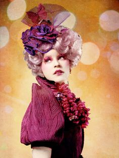 May the odds be ever in your favor... Totally want to be Effie for Halloween.
